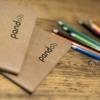 Pandoo 12 darabos színes ceruza újrahasznosított papírból