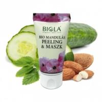 Biola bio mandulás peeling  maszk 50 ml.