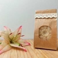 Jármy natúr kecsketejes virág alakú szappan dekoratív csomagolásban 100 g.