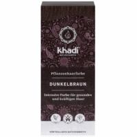 Khadi növényi hajfesték sötétbarna 100 g.