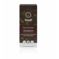 Khadi növényi hajfesték természetes mogyoróbarna 100 g.