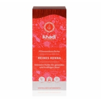 Khadi hajfesték élénkvörös 100% henna 100 g.