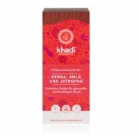 Khadi hajfesték vörös henna 100 g.
