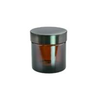 Ambra barna üvegtégely fedéllel 60 ml.