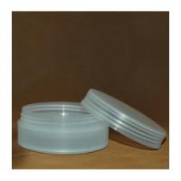 CARVEN műanyag tégely fedéllel, PP, 100 ml