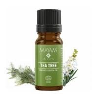 Mayam ausztrál teafa illóolaj, tiszta, Bio, Ecocert / Cosmos 10 ml.