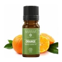 Mayam édesnarancs illóolaj, tiszta, Bio, Ecocert / Cosmos 10 ml.
