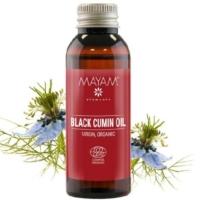Mayam feketeköménymag olaj szűz bio 50 ml.