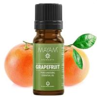 Mayam grapefruit illóolaj tiszta 10 ml.