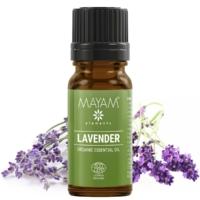 Mayam levendula illóolaj, tiszta, bio, Ecocert / Cosmos 10 ml.