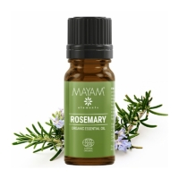 Mayam rozmaring illóolaj, tiszta, Bio, Ecocert / Cosmos 10 ml.