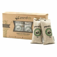 Pandoo természetes légfrissítő bambusz aktív szénnel 4x 75 gr