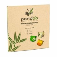 Pandoo méhviaszos szalvéta készlet 3 db.