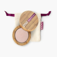 ZAO bio gyöngyház szemhéjpúder 102 Pearly Pinky Beige 3 g.