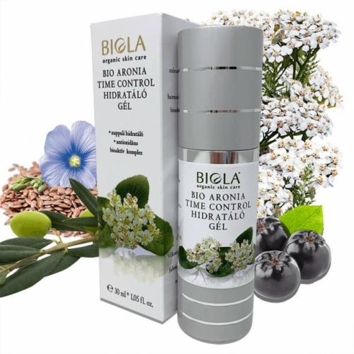 Biola bio arónia time control hidratáló gél 30 ml