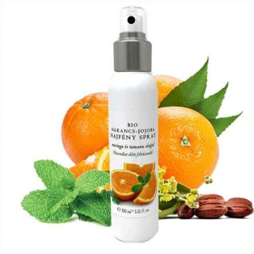 Biola bio narancs jojoba hajfény spray 100 ml.