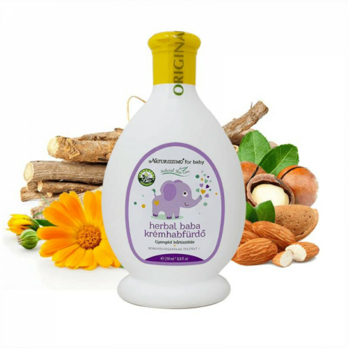 Biola herbal baba krémhabfürdő 250 ml.