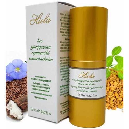 Biola Hiola  bio görögszéna rejuneváló szemránckrém szemkörnyékápoló15 ml.