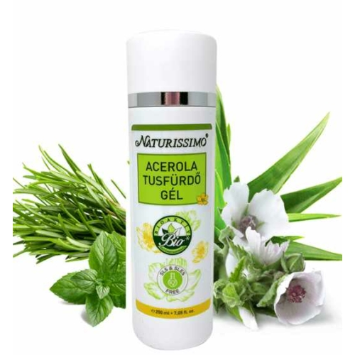 Biola naturissimo acerola tusfürdő 200 ml.