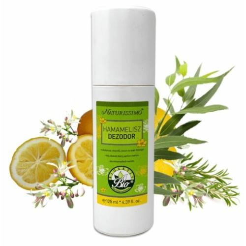 Biola naturissimo hamamelisz  dezodor 125 ml.