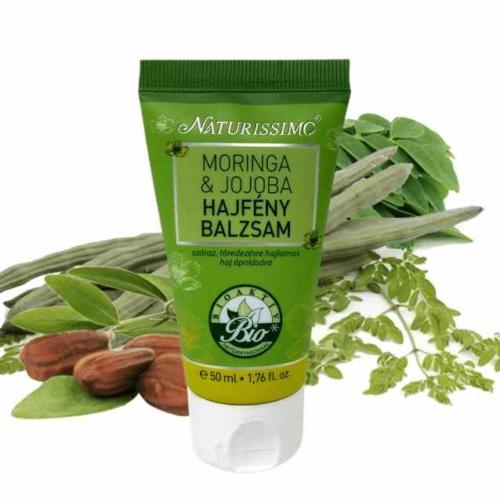 Biola naturissimo moringa jojoba hajfény balzsam 50 ml.
