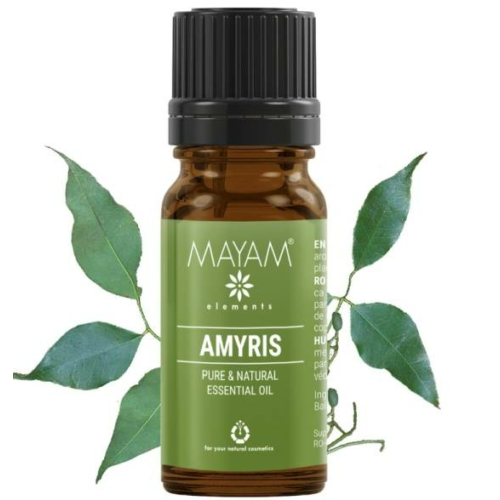 Mayam amyris illóolaj, tiszta 10 ml.