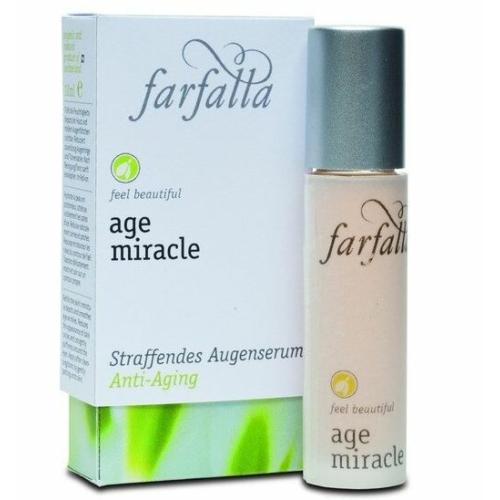 Farfalla age miracle szemkörnyék feszesítő szérum golyós adagoló fejjel 10 ml.