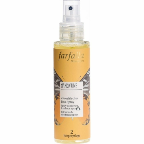Farfalla mandarine  citrus fresh  deodorant spray 100 ml.