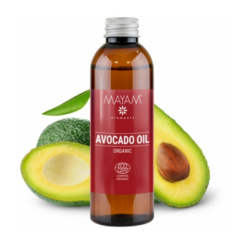 Mayam avokádó olaj bio, nyers 100 ml.