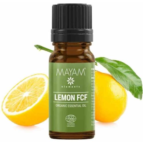 Mayam citrom illóolaj, tiszta, furánkoumarinmentes, Bio, Cosmos 10 ml.