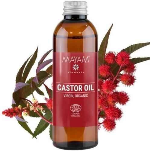 Mayam ricinusolaj szűz Bio, Ecocert / Cosmos 100 ml.