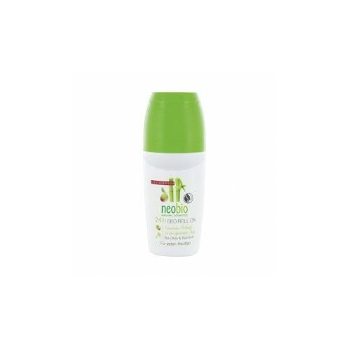 Neobio 24 órás alumíniummentes golyós dezodor bio olíva - és bambuszkivonattal 50 ml.