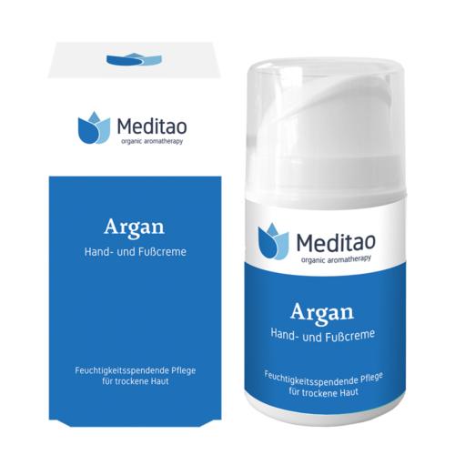 Meditao argán kéz- és lábápolókrém 50 ml.