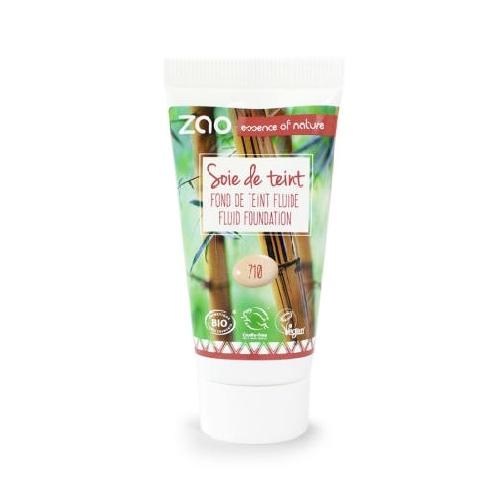 ZAO bio folyékony alapozó utántöltő 710 Light Peach 30 ml.